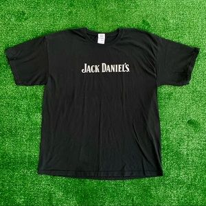 Mens XL Jack Daniels T-Shirt Black